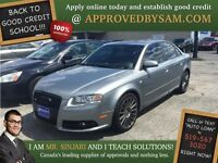 "Oyster Gray Metallic Audi A4 - TEXT ""AUTO LOAN"" TO 519 567 3020"