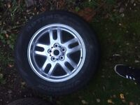New 255 60 18 tyre and Range Rover alloy wheel Land Rover