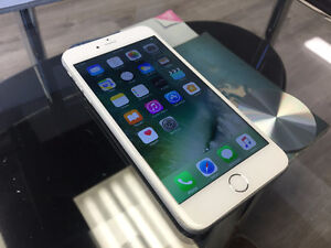 iPhone 6 Plus - Locked to Bell / Virgin Mobile - White / Silver