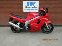 TRIUMPH SPRINT ST 955I, 1999, ONLY 28,855 MILES WITH SH, VGC, 12 MONTHS MOT