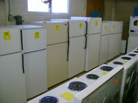 Fridges large selection. 90 day warranty. $249. and up.