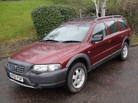 Volvo XC70 2.4 T (red) 2002