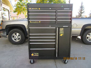 """"""" Brand New """" Mastercraft Tool Chest and Cabinet"""