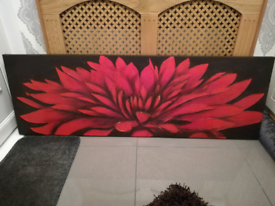 Floral Canvas Painting Picture