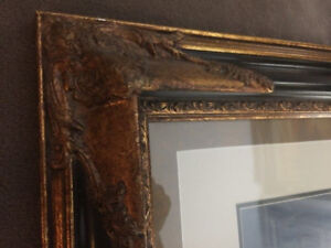 Oil Painting of Landscape in French Frame