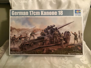 Trumpeter German Kanone 18 Heavy Gun Model Kit