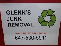 GLENN'S JUNK REMOVAL - CALL OR TEXT 647-530-5911