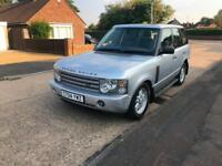 2004 Land Rover Range Rover 3.0 Td6 auto Vogue full service history and mot 4X4