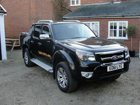 2011(61) FORD RANGER WILDTRAK 3.0 TDCI DOUBLE CAB - ONE OWNER - FSH - NO VAT -