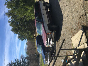 1996 Chevrolet Silverado 1500 Red and blue Other