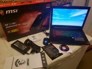 MSI GT72VR 6RE-048CA (i7-6700HQ, GTX1070, 32GB/256GB SSD+1TB)