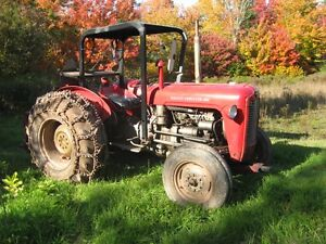 Tractor and Accessories for Sale
