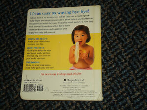 Baby Signs for Mealtime Board book Kingston Kingston Area image 2