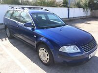 2003 VW PASSAT ESTATE 1.9 TDI 115BHP, APRIL 2017 MOT, ROOF RACKS, ONLY 1 PREVIOUS OWNER