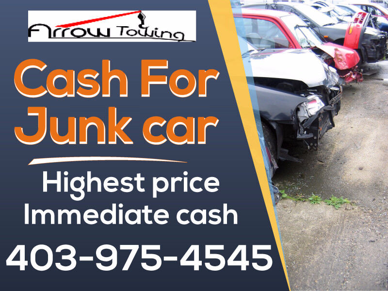 WE PAY TOP $$$$$$FOR JUNK CAR PLEASE CALL @ 403-975-4545   Towing ...