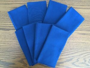 Set of 8 New Cloth Napkins