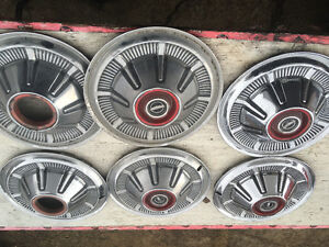 """Early bronco parts """"OFFERS"""" hub cap & wheels"""