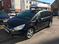Ford S-Max ZETEC PETROL ENGINE , INCLUDES 12 MONTHS AA COVER