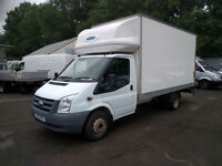 FORD TRANSIT 350 LWB EXT FRAME LUTON WITH TAIL/LIFT