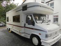 Swift Kontiki 6 berth 1993 motorhome for sale