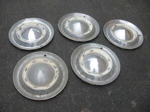 Original 1955 chevrolet Belair hubcaps