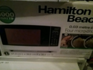 BRAND NEW HAMILTON BEACH MICROWAVE
