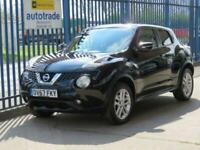 2017 67 NISSAN JUKE 1.5 ACENTA DCI 5D 110 BHP. 1 OWNER-PRIVACY GLASS-CLIMATE CON