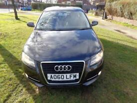 Audi A3 1.6TDI Sportback START/STOP [2 OWNERS+FSH+FREE WARRANTY+£20 TAX]