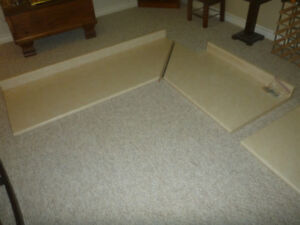 3 Laminate Kitchen Countertop off white pieces never been used