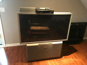 "55"" Panasonic projection TV"