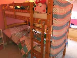 Twin bunk beds and mattresses - St Thomas