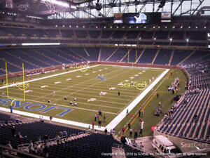 4 Detroit Lions Tickets to Every Home Game
