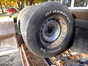 Old Truck Rally Wheels Chev GMC 1/2 Ton Square Body