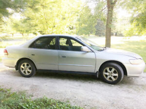 2001 Honda Accord 5 speed
