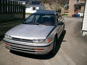 1992 Honda Accord Berline