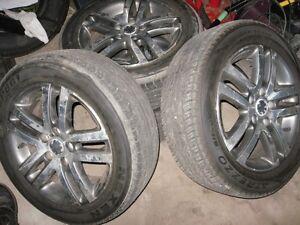 Set Of 4 All Season Tires 205/55/R16 (VW Rims)