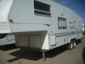 5TH WHEEL TRAVEL TRAILERS FOR SALE