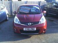 Nissan Note 1.6 16v n-tec (red) 2011