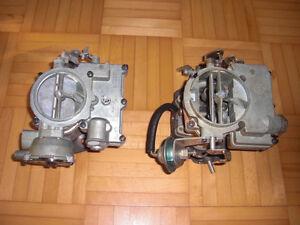 SBC 2bbl Rochester G2 tripower carburetors Chevrolet