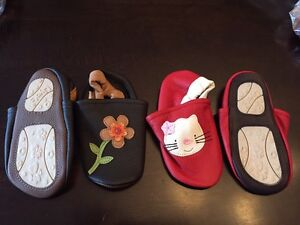 Girls Soft Sole Baby shoes - Better than Robeez. 2 Pairs Left!!!