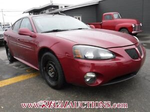 2005 PONTIAC GRAND PRIX  4D SEDAN