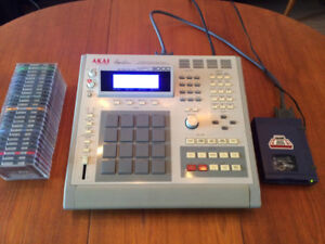 AKAI MPC 3000 (Sampler Drum Machine) + Lecteur Zip