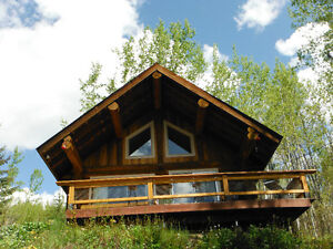 Log Cabin Paradise on Beautiful Lac des Roches
