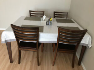 Furniture for sale - Dining Table + Chairs