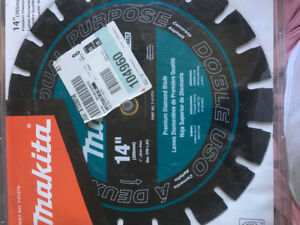 Makita diamond blade 14 in