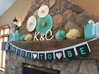 Bridal Shower Banners- 2 for $25