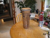 cuban hand carved drum