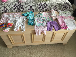 Assortment girl clothes