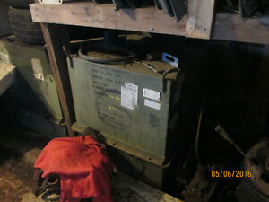 Military engine storage container