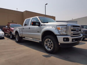 2016 Ford F-350 platinum DIESEL...payments as low as $398 bi/wkl